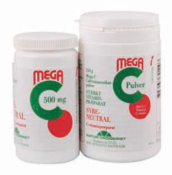 stærk c vitamin bivirkninger